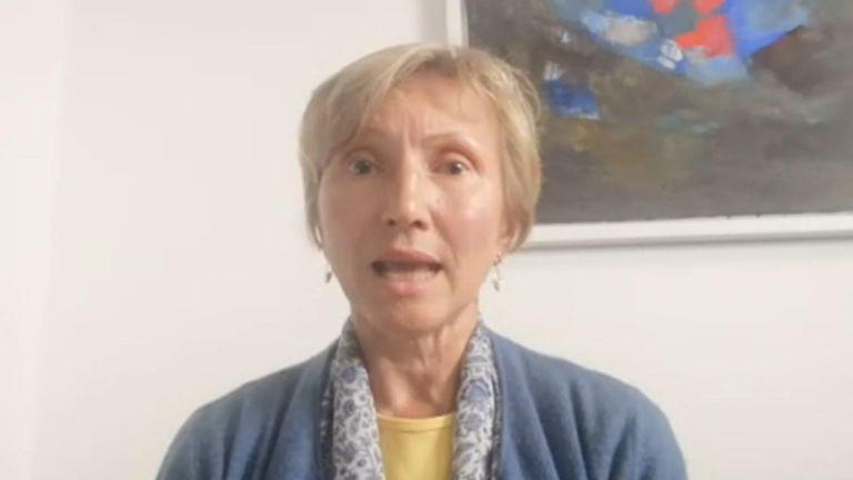 Veuve de l'ancien agent du KGB Alexander Litvinenko, Marina dit