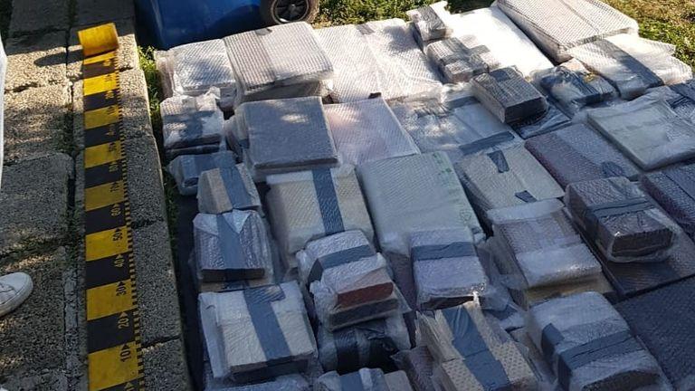Les livres volés valent plus de 2,5 millions de livres sterling.  Pic: Police rencontrée