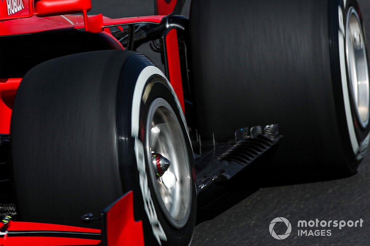 Détail du plancher de la Ferrari SF1000