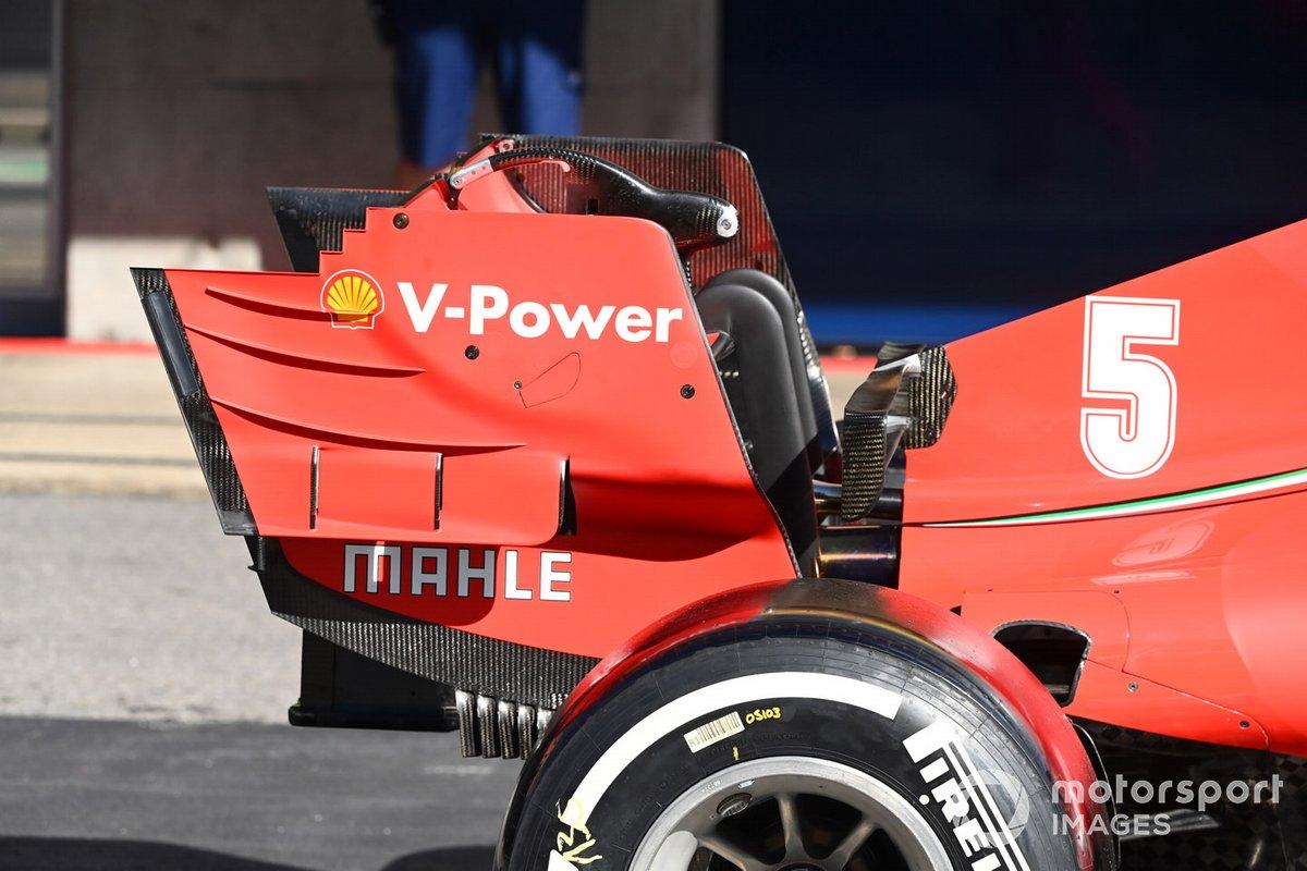 Détail technique Ferrari