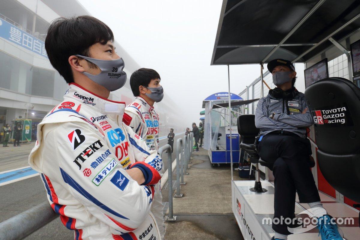 Kenta Yamashita, Yuichi Nakayama (# 39 DENSO KOBELCO SARD GR Supra)