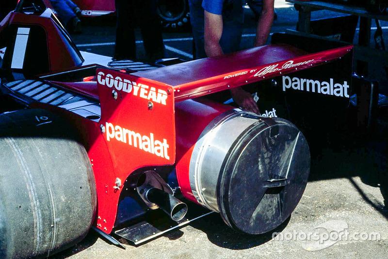 La voiture controversée Brabham Alfa Fan a fait ses débuts à Anderstorp.