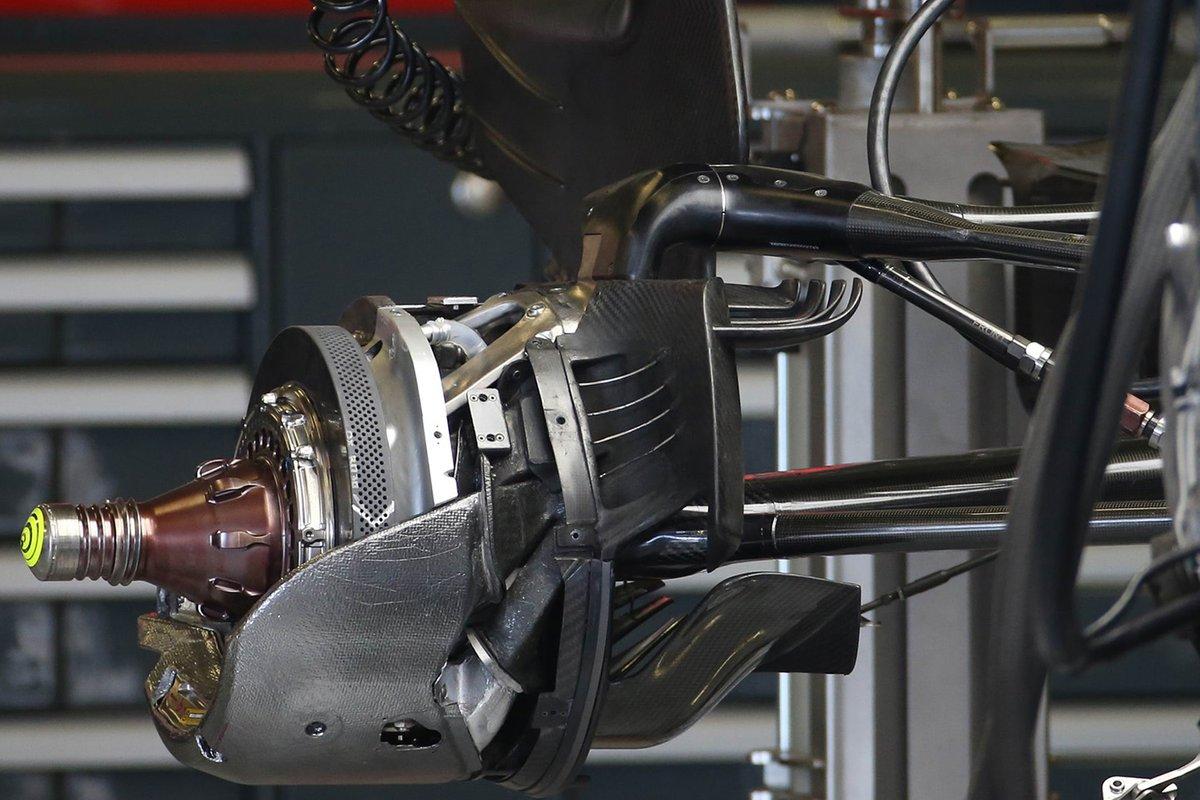 Détail des freins Haas VF-20
