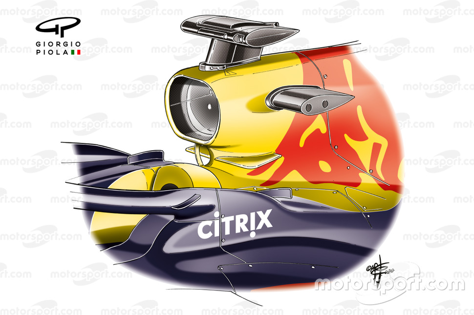 Palmes Red Bull RB16 halo