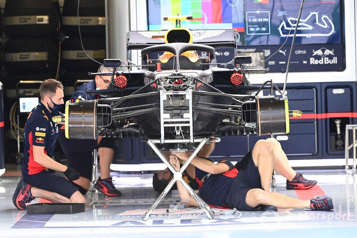 Détail technique Red Bull
