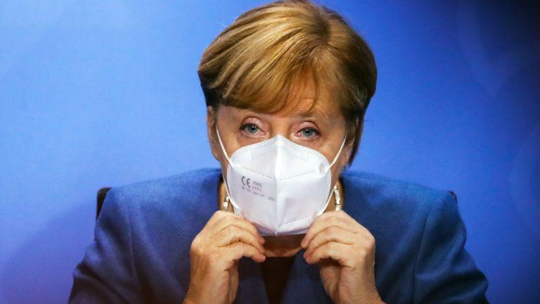 Chancelière Angela Merkel