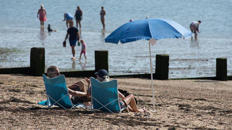 Les températures de surface étaient de 0,5 ° C au-dessus de la moyenne en septembre