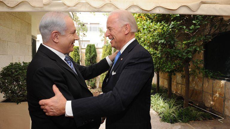 Une victoire de Trump serait préférable pour M. Netanyahu - bien que sa relation avec M. Biden dure des décennies