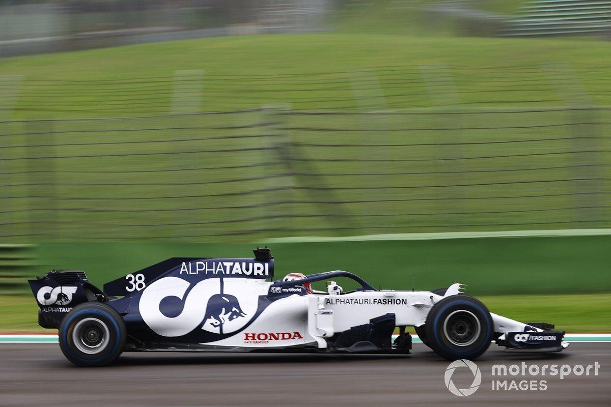 Yuki Tsunoda, Honda Formula Dream Project, teste l'AlphaTauri