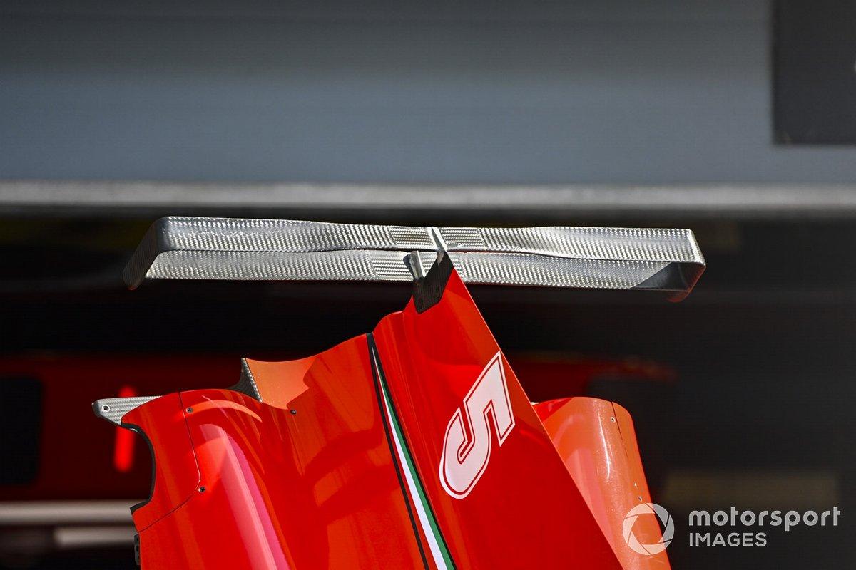 Détail de la carrosserie Ferrari
