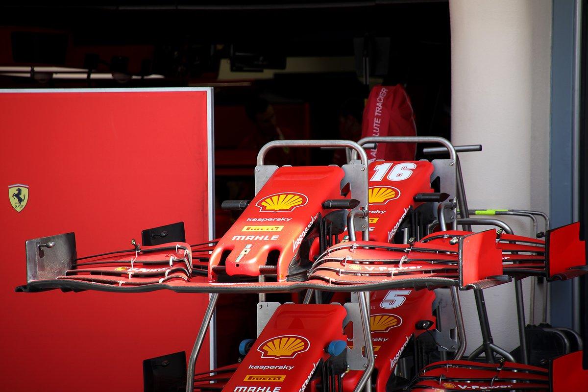 Aile avant de la Ferrari SF1000