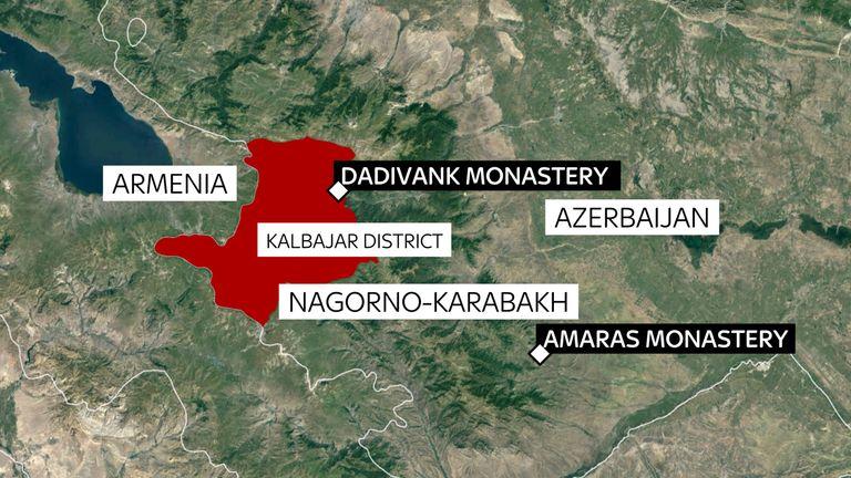 Le monastère de Dadivank passera aux mains des Azerbaïdjanais mercredi