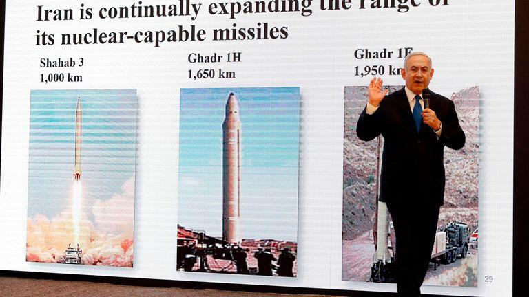 Le Premier ministre israélien Benjamin Netanyahu a déclaré qu'il avait la preuve d'un