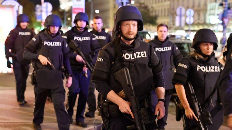 Plusieurs personnes auraient été tuées à Vienne