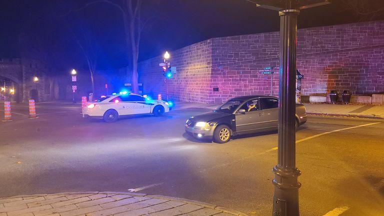 Coups de couteau au Québec Crédit @JordanRaiden