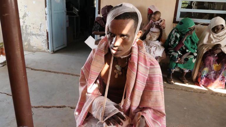 Un homme du Tigray a déclaré que ses voisins avaient tenté de le tuer en révélant son identité à des combattants d'un autre groupe ethnique.