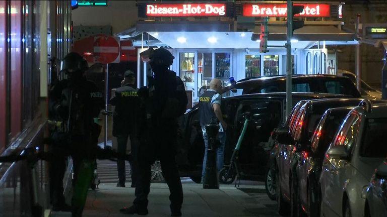 Police armée à Vienne