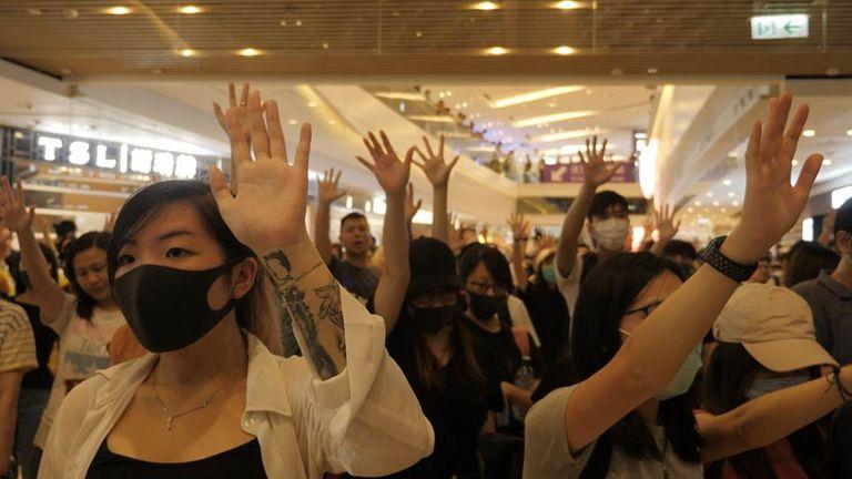 Des manifestations pour la démocratie ont éclaté à Hong Kong l'année dernière
