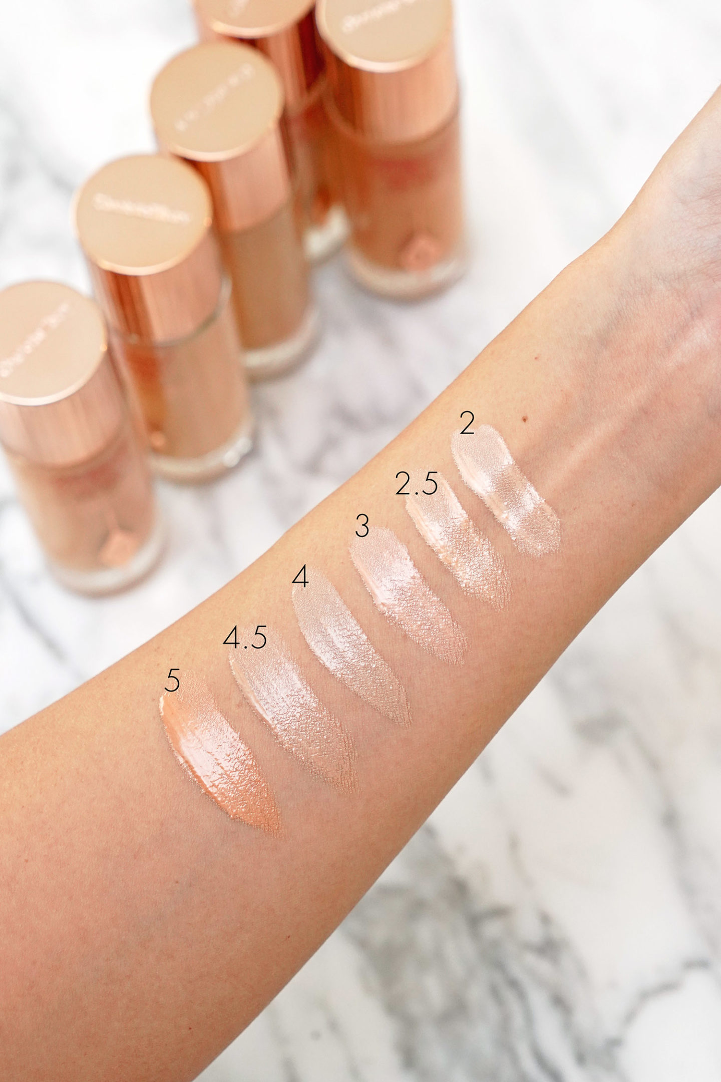 Charlotte Tilbury Hollywood Flawless Filter échantillons