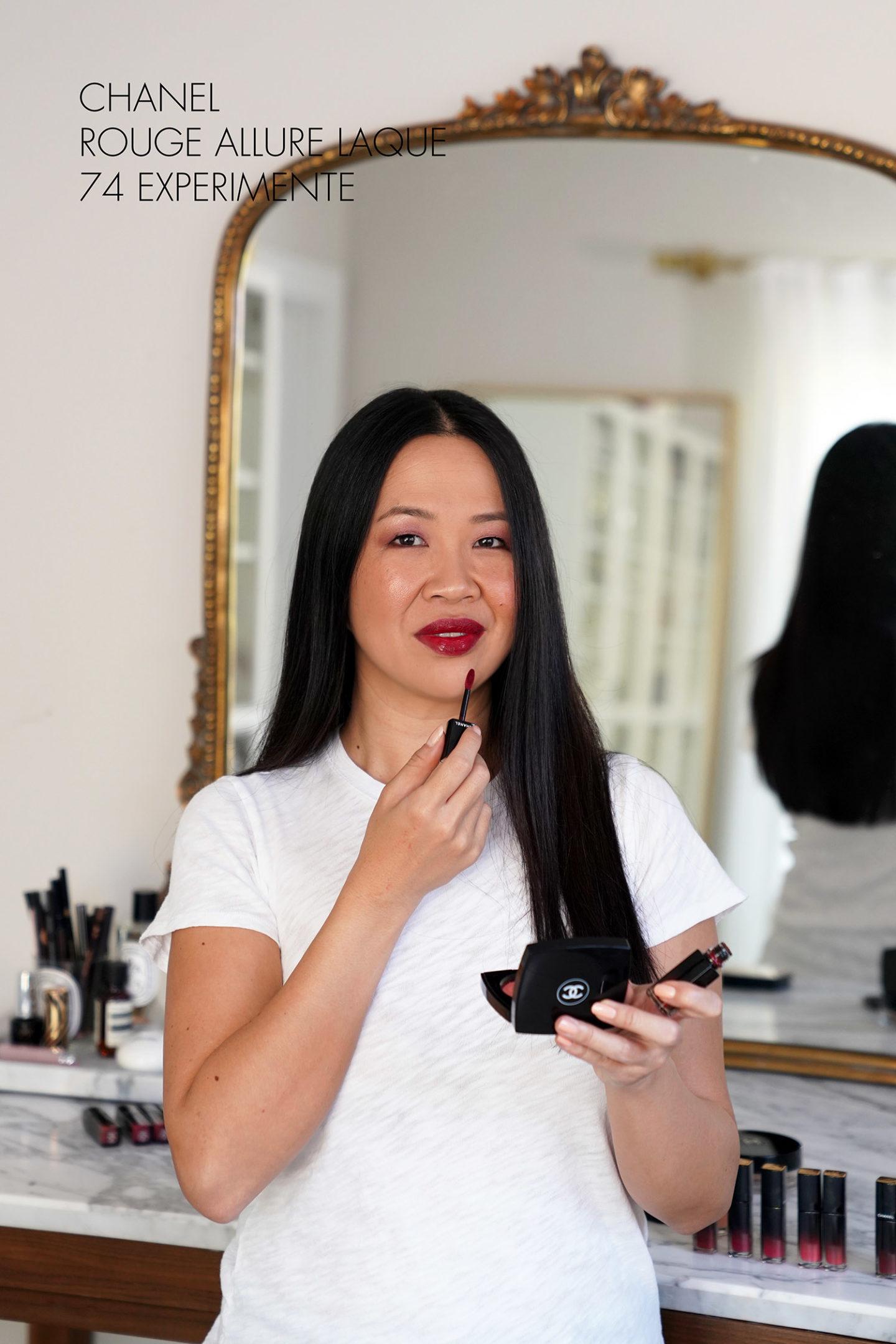 Expérience Chanel Rouge Allure Laque 74