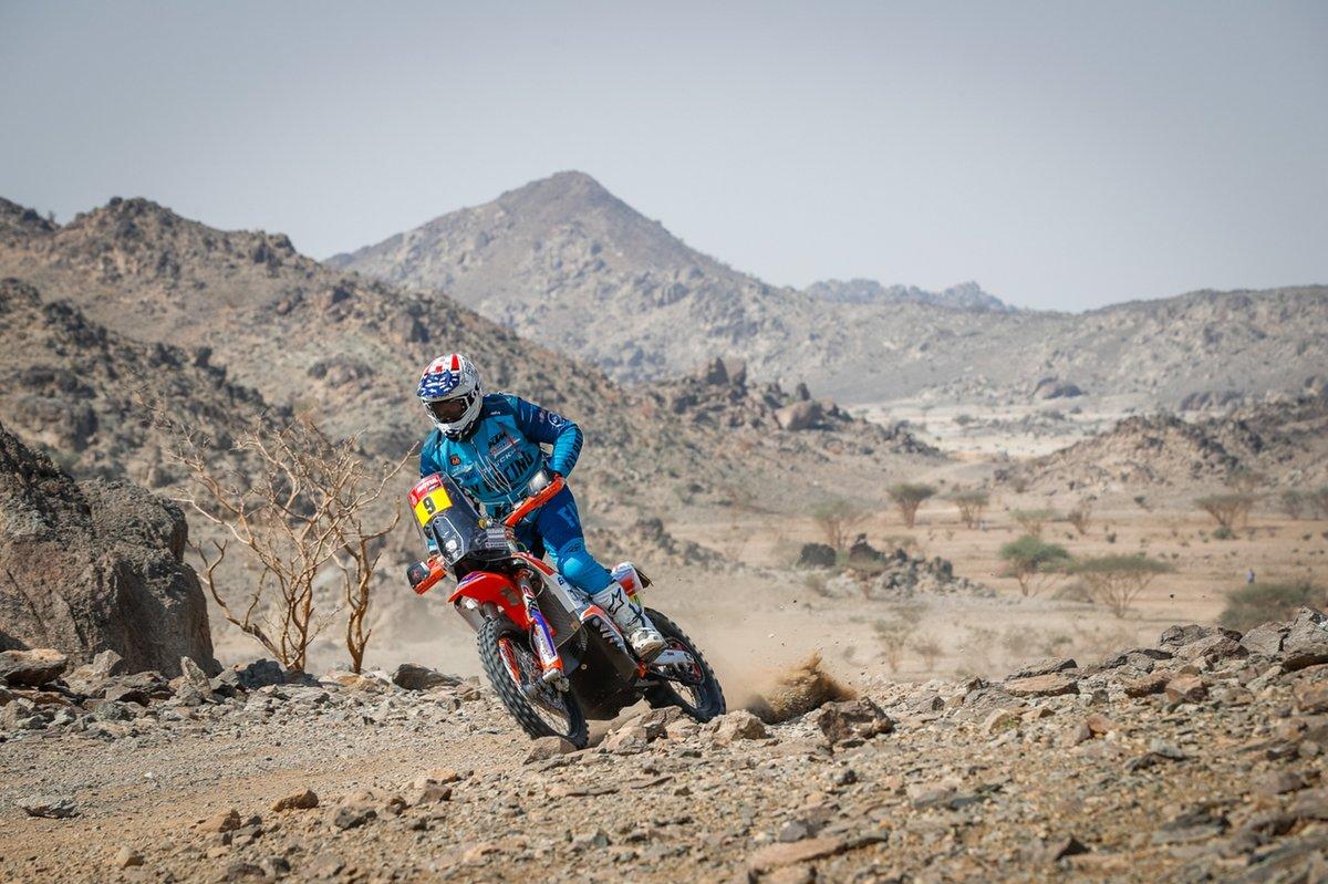 # 9 BAS Dakar KTM Racing Team: Skyler Howes