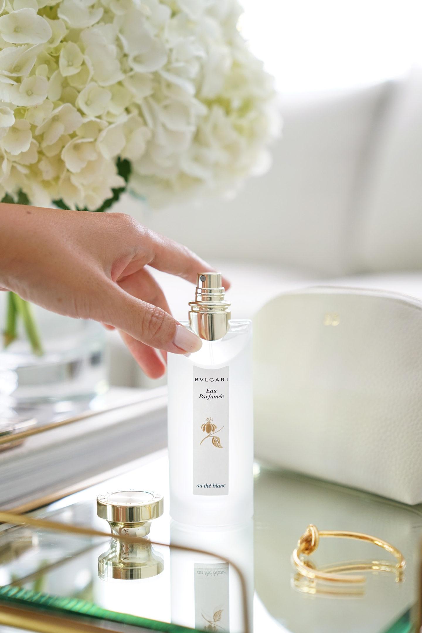 Meilleur parfum de vacances Bulgari Au The Blanc Parfum |  Le Look Book Beauté