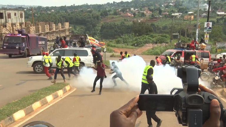 Agitation en Ouganda avant les élections