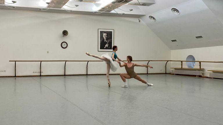 Ana et Denis en répétition