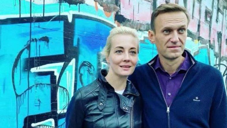 Pic: Yulia Navalnaya