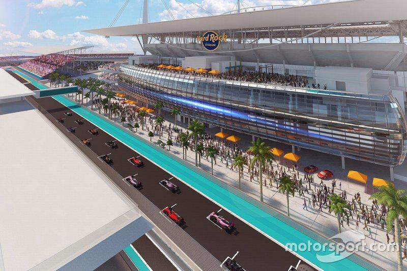 Rendu de piste de Miami