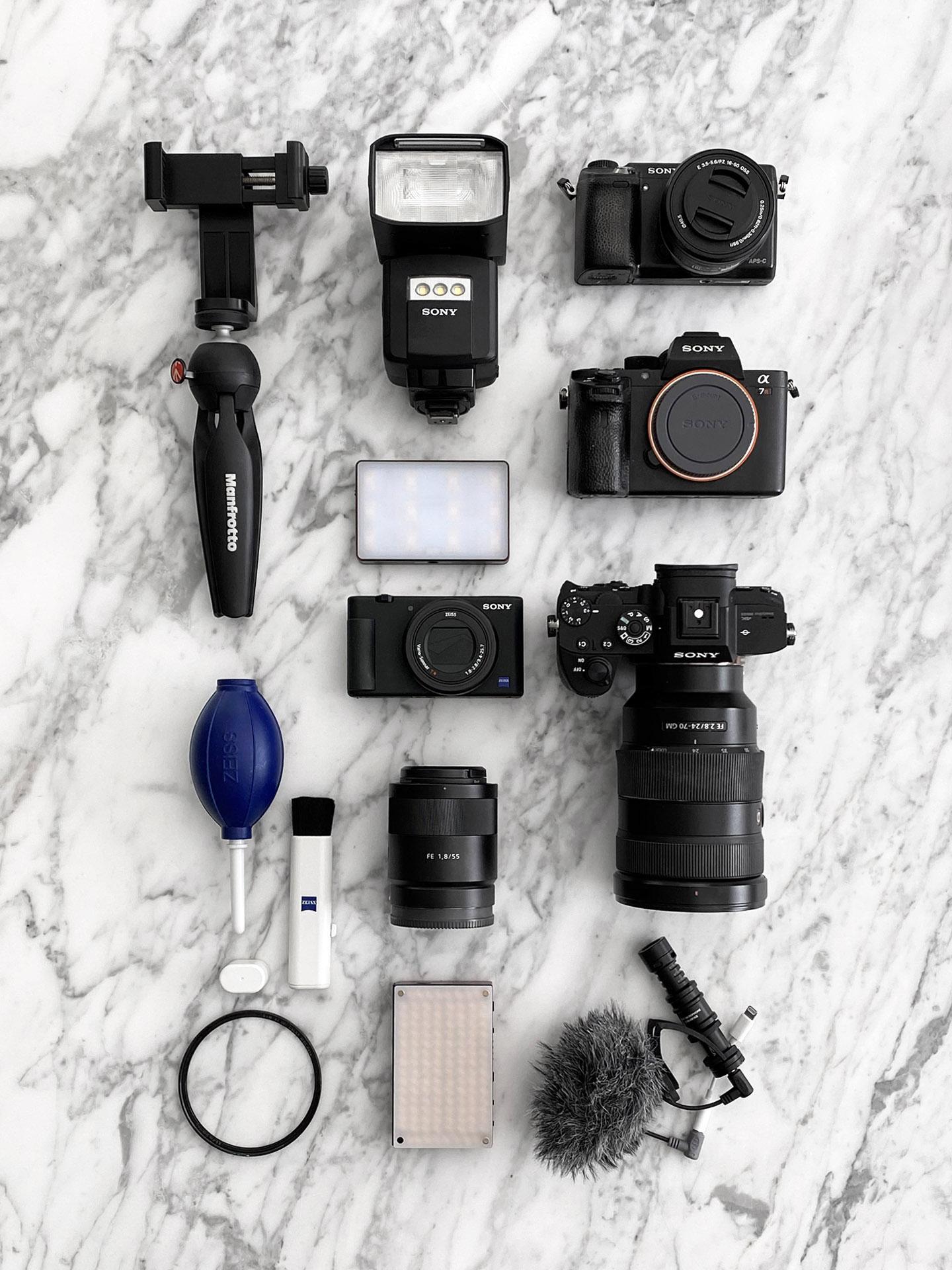 Ask Sabrina Part 3 Caméras, équipement et outils d'édition |  Le Look Book Beauté