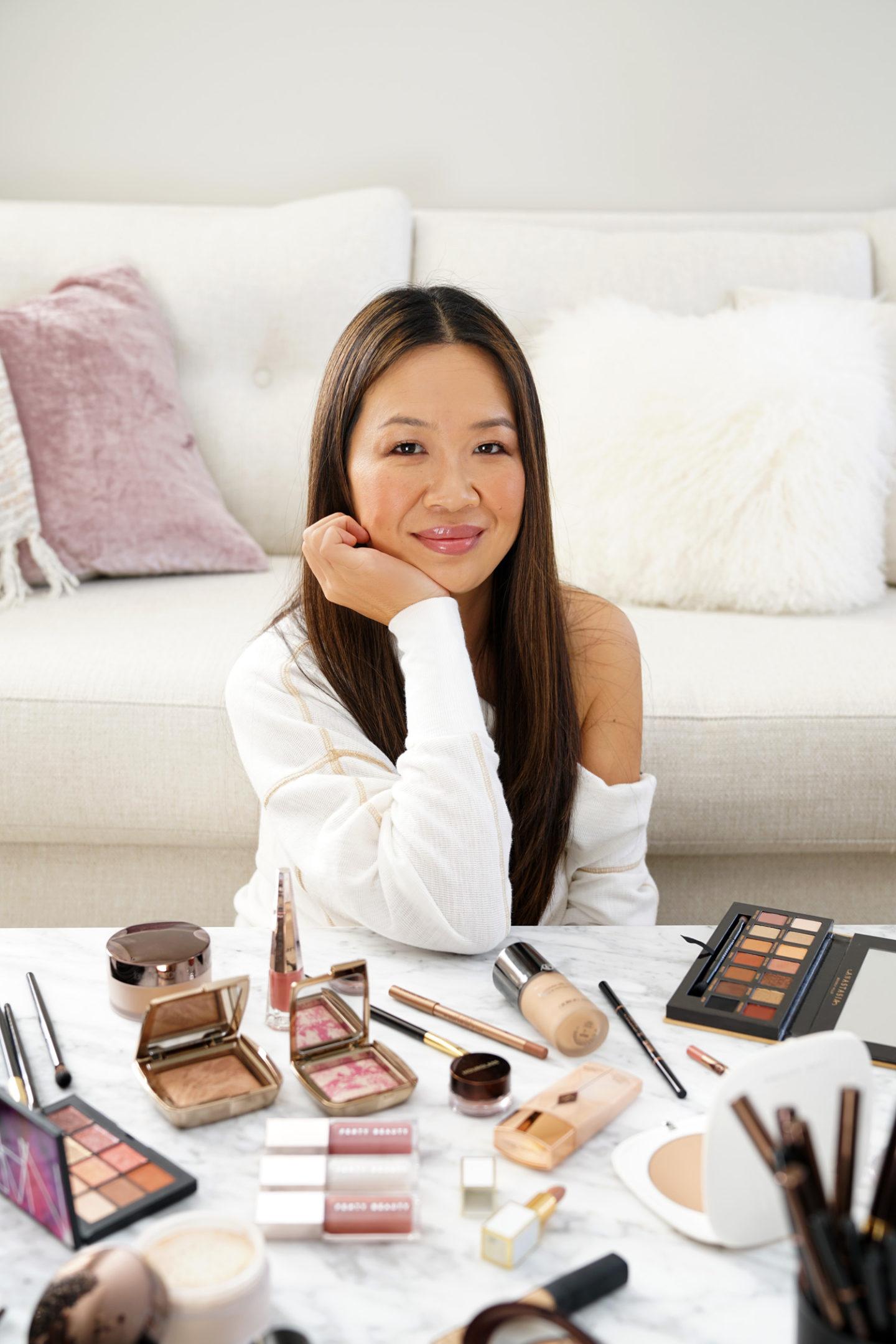 Un maquillage éclatant avec les brillants à lèvres Fenty Beauty Gloss Bomb Sephora |  Le Look Book Beauté