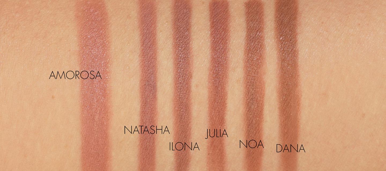 Natasha Denona I Need a Nude Lip Pencil Swatches
