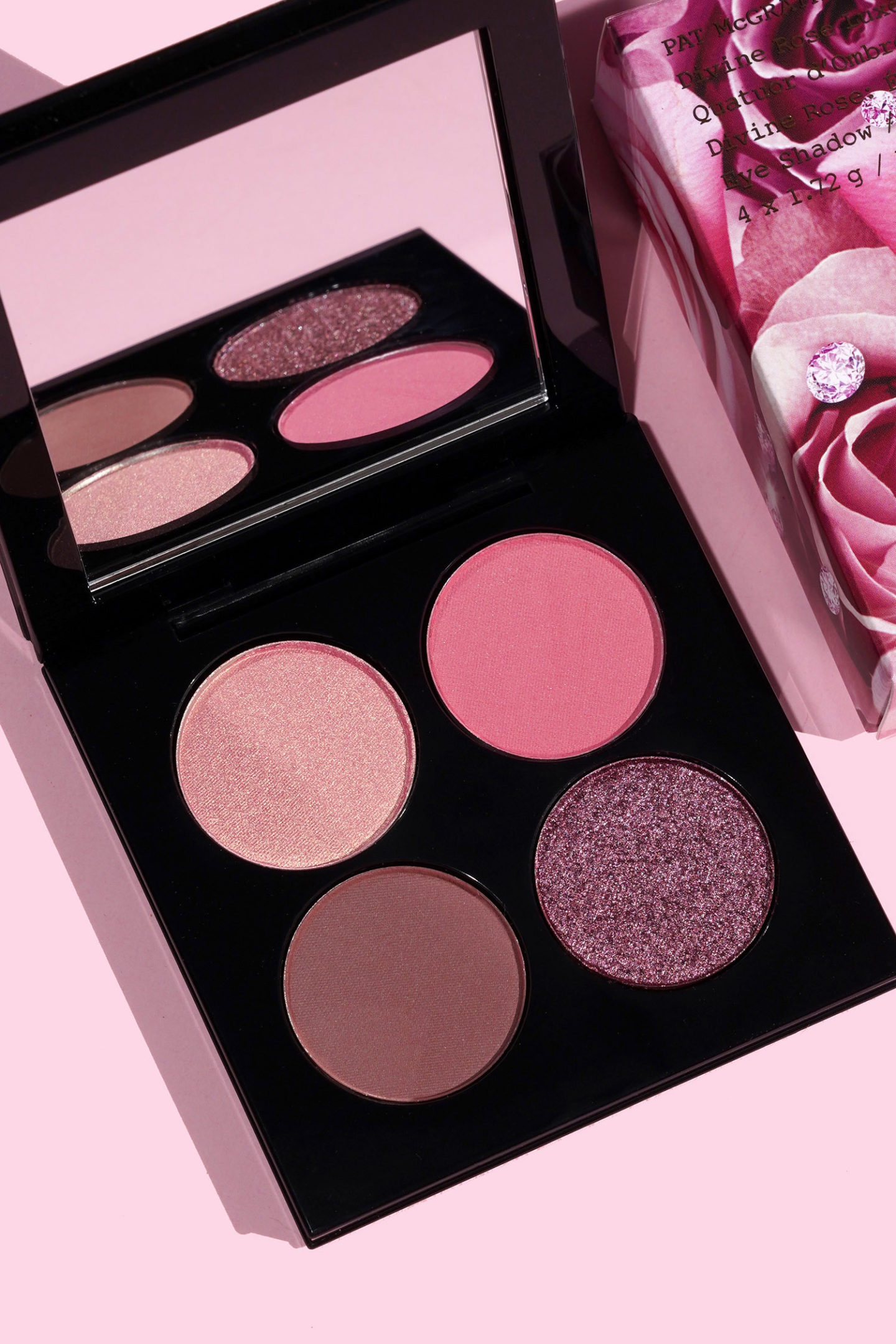 Pat McGrath Divine Rose Luxe Quad dans Eternal Eden