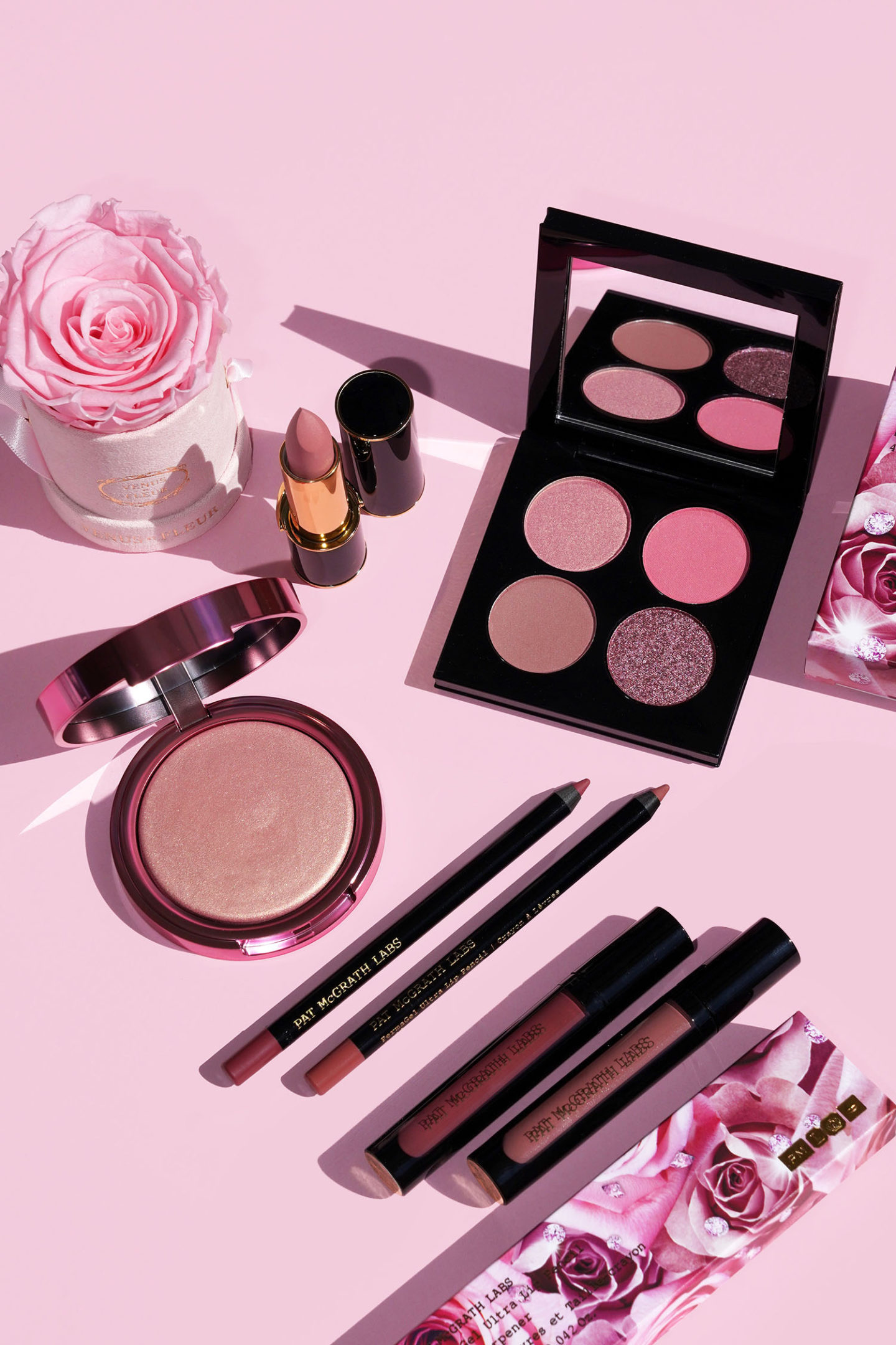 Examen de la collection Pat McGrath Divine Rose II