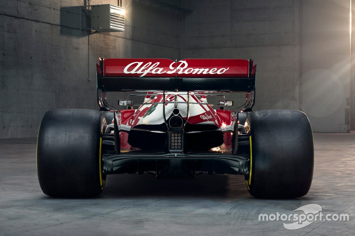 Alfa Romeo Racing C41 arrière