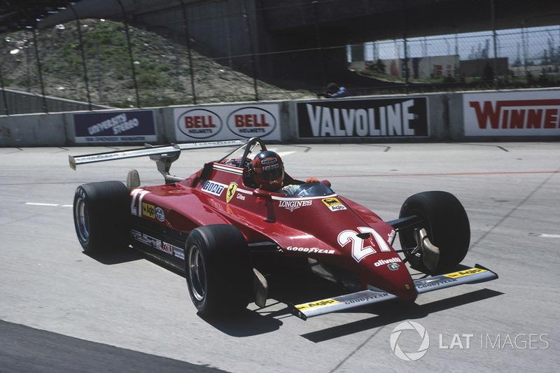 Gilles Villeneuve, Ferrari 126C2