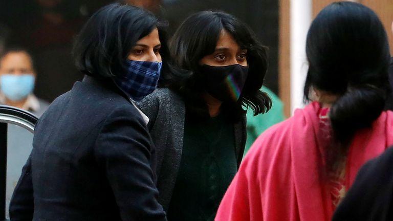 Mme Ravi a été arrêtée le 13 février à son domicile dans la ville méridionale de Bengaluru par la police de New Delhi