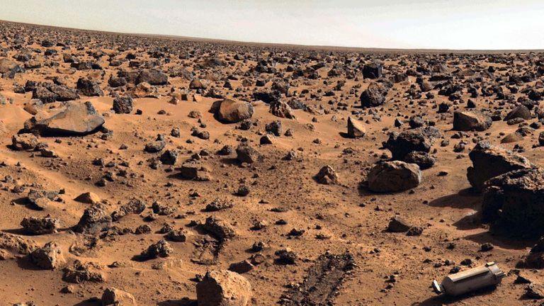 Le rover chinois sur Mars espère atterrir à Utopia Planitia