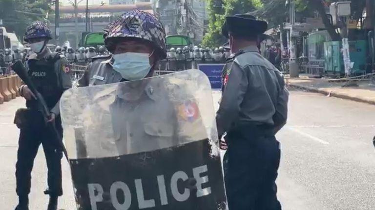 La junte militaire a pris le contrôle du Myanmar le 1er février
