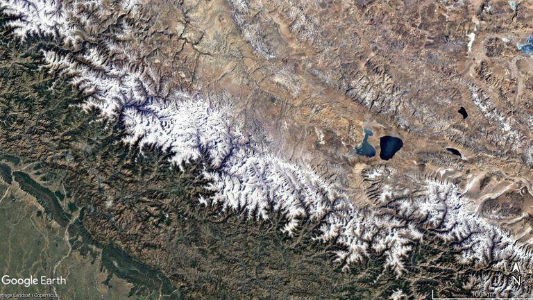 Cette image satellite montre la région en décembre 1984. Crédit: Google Earth Pro