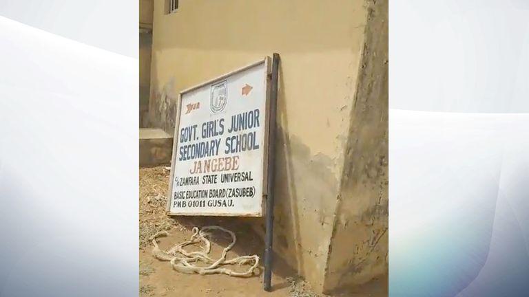 L'enlèvement a eu lieu dans une école du nord du pays.  Pic: TheCable