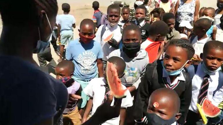 Les soupes populaires pour les enfants sont désormais obligatoires à Port Elizabeth