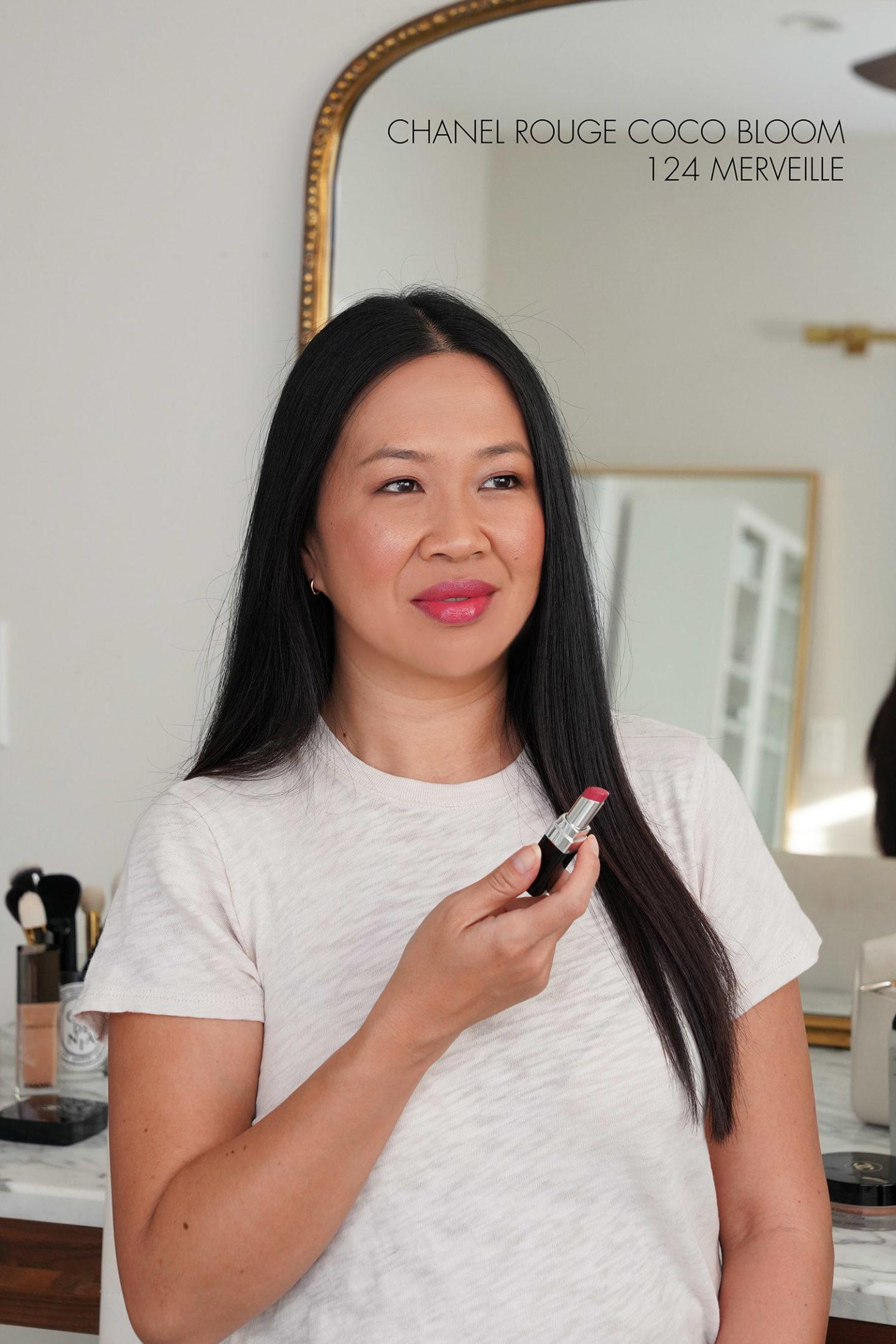 Chanel Rouge Coco Bloom Rouge à Lèvres Hydratant Merveille