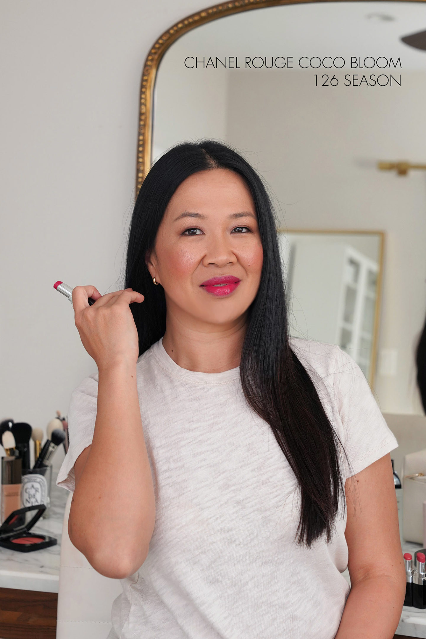 Chanel Rouge Coco Bloom Hydrating Lipstick 126 Season