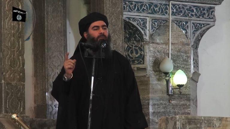 Le chef de l'État islamique (EI), Abu Bakr al-Baghdadi, aurait parlé à des partisans dans une mosquée de Mossoul