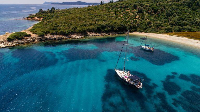 Île de Meganisi, Grèce