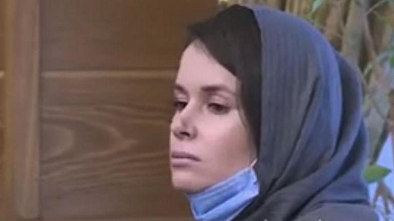 La sortie de Kylie Moore-Gilbert a été filmée par la télévision d'État iranienne