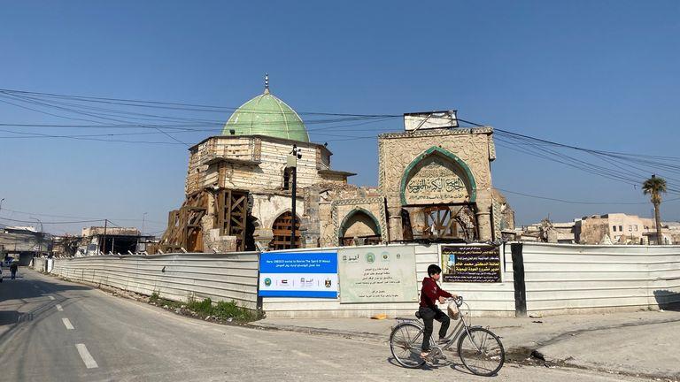 Mossoul était le site de la capitale de l'EI