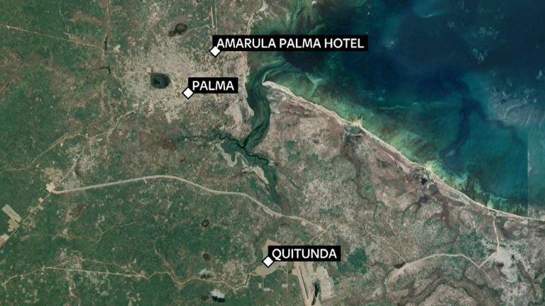 Des dizaines de personnes ont été piégées dans un hôtel de la ville de Palma, qui est attaquée par des militants depuis mercredi